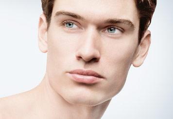 Gesichtsbehandlung für Männer